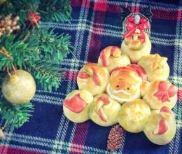 圣诞老人面包#圣诞烘趴 为爱起烘#
