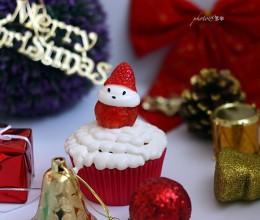 圣诞老人杯子蛋糕#圣诞烘趴,为爱起烘#