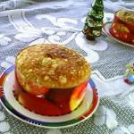 圣诞面包:潘妮托妮#圣诞烘趴 为爱起烘#