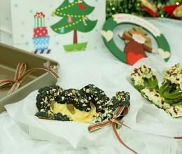 圣诞花环曲奇饼干