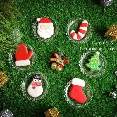 圣诞糖霜饼干#圣诞烘趴,为爱起烘#