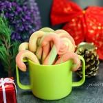 圣诞老人的拐棍饼干#圣诞烘趴,为爱起烘#