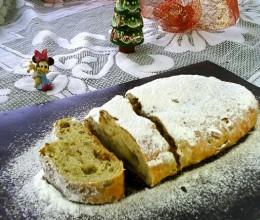 圣诞面包:史多伦#圣诞烘趴 为爱起烘#