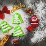 圣诞树糖霜饼干#圣诞烘趴,为爱起烘#