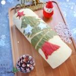 圣诞树蛋糕卷#圣诞烘趴.为爱起烘#