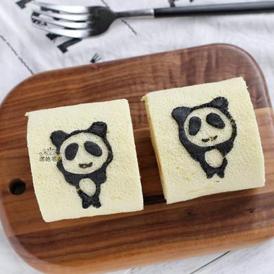 熊猫蛋糕卷