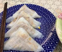 三角粉&蚝士瑶柱白粥