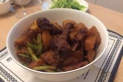 三杯鸭炖土豆