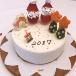 圣诞冻芝士蛋糕