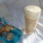 花生奶缇(奶盖奶茶)#趣味挤出来,及时享美味#
