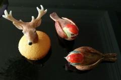 翻糖小鸟与鹿
