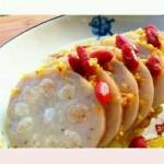 蜜汁桂花藕