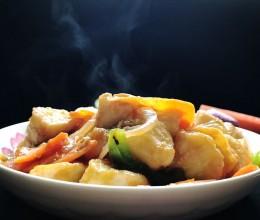 红烧玉子豆腐