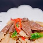马蹄炒猪肝——猪肝怎么做既鲜又嫩