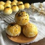 蛋黄酥(黄油+玉米油版)