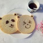 小熊炼乳吐司