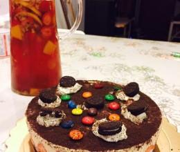 奥利奥冻芝士夹心蛋糕