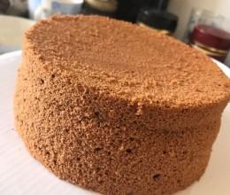 六寸巧克力戚风(可可粉)