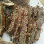 卤牛肉(凉拌牛肉的未切状态)
