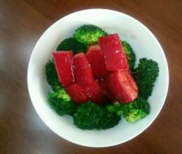 红曲米烧肉