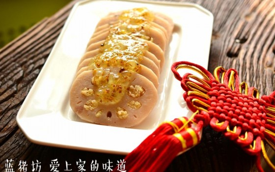 桂花糯米藕