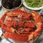 葱油帝王蟹