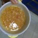 九个月宝宝辅食食谱-西红柿炒白菜疙瘩汤