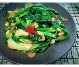 炝锅菠菜#过年大鱼大肉的该清理肠胃了