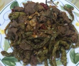 干辣椒炒牛肉