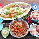 花开富贵,吉庆有鱼#快手蒸鲜,慢享团圆#