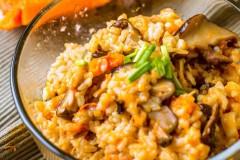 南瓜干贝香菇焖饭