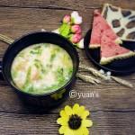 珍珠翡翠白玉汤(时蔬疙瘩汤)