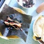 培根海苔蛋卷