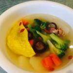 火腿竹荪蔬菜汤