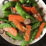 豌豆炒牛肉
