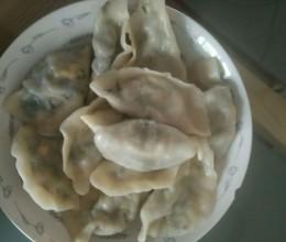 荠菜鸡蛋水饺