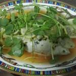 泰式清蒸柠檬鲈鱼