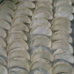 韭菜三鲜饺子
