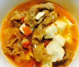 肥牛炖豆腐