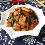 咸肉炒青蒜