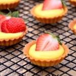 草莓脆皮挞