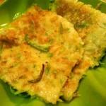 十分钟单人餐——西葫芦鸡蛋饼