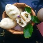 菜菇柳叶包