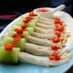 莴笋金针卷#舌尖上的春宴#