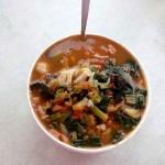 西红柿素汤面
