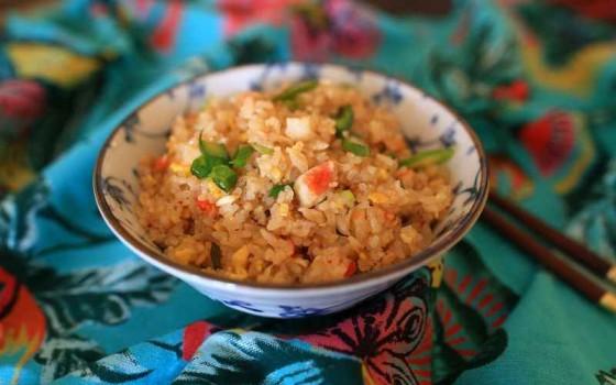 泰式蟹肉炒饭
