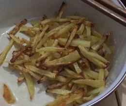 空气炸锅版薯条