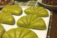 菠菜荷叶包