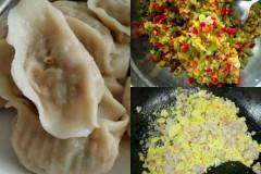 柿子椒肉馅饺子