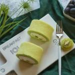 斑斓奇异果蛋糕卷
